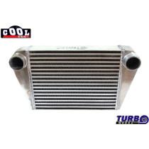 Intercooler TurboWorks 400x300x76 hátsó kivezetéssel